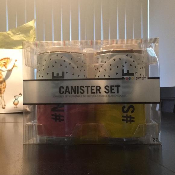 I Spy Diy Office Never Opened Canister Set Poshmark